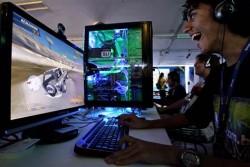 Computer game addiction